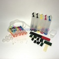 Система непрерывной подачи чернил (СНПЧ) для Canon PIXMA MP520, MP510, iP3500, iP3300, iX4000, MX700, iX5000 c чипами