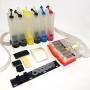 Система непрерывной подачи чернил (СНПЧ) для Canon PIXMA MG7140, MG6340, iP8740, MG7540, с чипами, 6 цветов