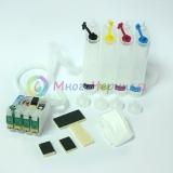 СНПЧ для Epson WorkForce 520, 320, 323, 325, Stylus NX130, NX230, NX125, NX127, NX420, NX530, NX625 (совм. T1251-T1254), с авто-чипами, 4 цвета