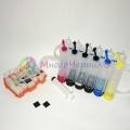 СНПЧ для Canon PIXMA MG6240, MG6140, MG8240, MG8140 (для картриджей PGI-425Bk, CLI-426, 6 цветов), с чипами и кольцевыми уплотнителями