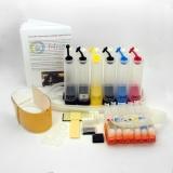 СНПЧ для Canon PIXMA TS8140, TS8240, TS8340, TS9140 (PGI-480, CLI-481), система непрерывной подачи чернил, с чипами, комплект 6 цветов