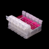 Блок картриджей 6 цветов для СНПЧ к Epson, универсальный, низкий, без чипов