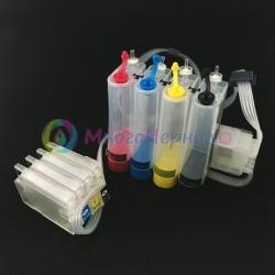 СНПЧ для HP OfficeJet 7110, 7510, 7612, 7610, 6700, 6100, 6600, 7512 (HP 932/933), с демпферами-клапанами, с насадкой для прокачки, с чипами
