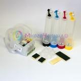 Система непрерывной подачи чернил (СНПЧ) для Epson CX6600, C86, C84, CX6400, CX4600, CX3600, C66, C64 с чипами