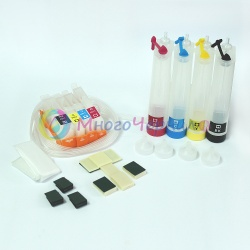 СНПЧ для HP OfficeJet 7000, 6000, 7500a, 6500, 6500a на HP 920 картриджах (4 цвета), с чипами