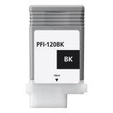 Картридж для Canon imagePROGRAF TM-200, TM-205, TM-300, TM-305 (PFI-120BK), совместимый, чёрный Black, 130 мл
