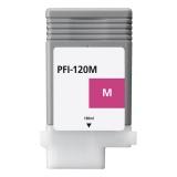Картридж для Canon imagePROGRAF TM-200, TM-205, TM-300, TM-305 (PFI-120M), совместимый, пурпурный Magenta, 130 мл