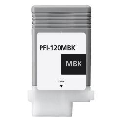 Картридж для Canon imagePROGRAF TM-200, TM-205, TM-300, TM-305 (PFI-120MBK), совместимый, матовый чёрный Matte Black, 130 мл