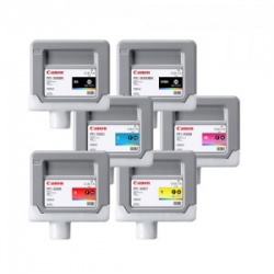 Комплект картриджей PFI-306 для Canon imagePROGRAF iPF8400SE совместимые, 6 х 330 мл