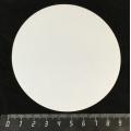 Магнит круглый, диаметр 90 мм, для сублимации, 1 шт.