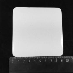Магнит квадратный, 90 x 90 мм, для сублимации, 1 шт.