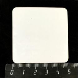 Магнит квадратный, 50 x 50 мм, для сублимации, 1 шт.