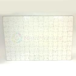 Пазл для сублимации картонный, А4, 18x27 см, 120 деталей