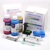 Заправка для HP DeskJet 2050, 1000, 1050, 3050, 2050A, 2540, HP Deskjet Ink Advantage 1515, 3545, 3540, 4515, 1015, 2545, 2515, 2520 hc, 2645, 3515, 1510, набор для заправки цветного картриджа HP650, HP122 HPI-1061C.100 цветной, с 3 x 100 мл. чернил