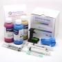 Заправка для HP Photosmart C4283, C5283, C4483, C4343, C4583, D5363, DeskJet D4263, D4363, Officejet J5783, J6413, набор для заправки цветных картриджей HP 141, HP 141XL, с чернилами InkTec