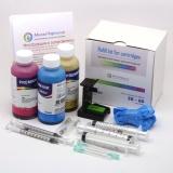 Заправка для HP DeskJet 2320, 2710, 2720, HP DeskJet Plus 4120, 4130, набор для заправки цветного картриджа HP 305 XL, с 3 x 100 мл. чернил