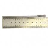 Игла тупая для шприца, длинная, для заправки картриджей (длина 100 мм / 10 см, диаметр 1,6 мм)
