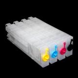Перезаправляемые картриджи (ПЗК) для Epson WorkForce Pro WF-C5290DW, WF-C5790DWF (совм. T9451-T9454), с необнуляемыми чипами, комплект 4 цвета