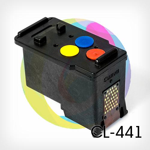 Колор 441 картридж цвета схема Инструкция как заправить картридж Canon PG-440 и CL