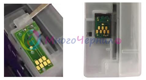 Как установить оригинальные чипы на картриджи Epson 3800/3880