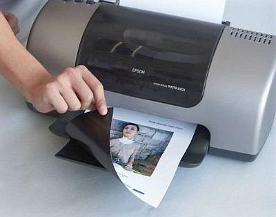 Печать на магнитной фотобумаге