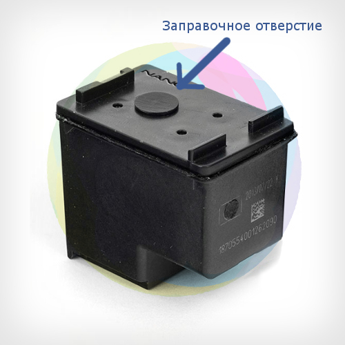 Принтер hp deskjet 2050a как заправить картриджи