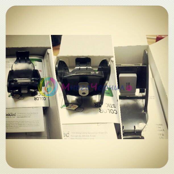 Фиксатор в заправочном комплекте позволяет прокачать чернила в ПГ