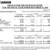 Продажи Canon в Европе упали на 4,6% из-за проблем в России и Украине