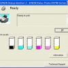 Как проверить уровень чернил в принтере Epson