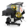Epson выпускает сублимационный плоттер SureColor F9370 со скоростью печати 108 м2 в час
