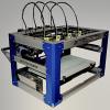 Новый промышленный 3D-принтер Stacker для печати 4 предметов одновременно