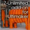 Z-Unlimited позволяет 3D-принтеру Ultimaker печатать модели высотой 3 метра