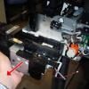 Как извлечь сервисную станцию (памперс) из HP Designjet T120, T125, T130, T520, T525, T530 – инструкция
