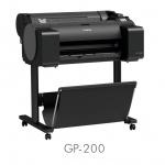 Первые плоттеры Canon с пигментными флуоресцентными чернилами imagePROGRAF GP-200, GP-300, GP-2000 и GP-4000