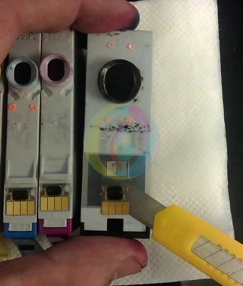 Удаление чипа с оригинального картриджа HP 178, 920, 655