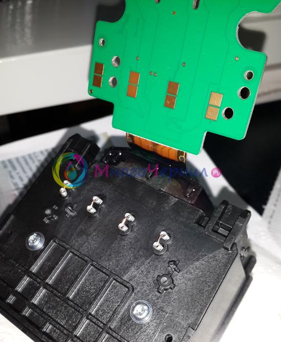Замыкание датчика помпы печатающей головы HP 8100/8600 с помощью проводков