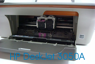 HP 3050A с открытым картриджным отсеком