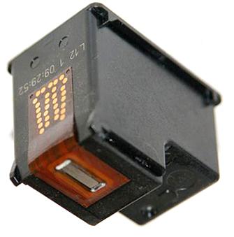 Печатающая головка на картридже HP (black)
