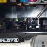 Промывка-прокапывание печатающей головы на Canon