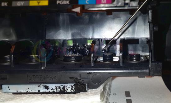 Промывка-прокапывание печатающей головы на Canon и HP