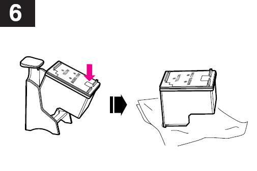 инструкция заправки hp c8766he