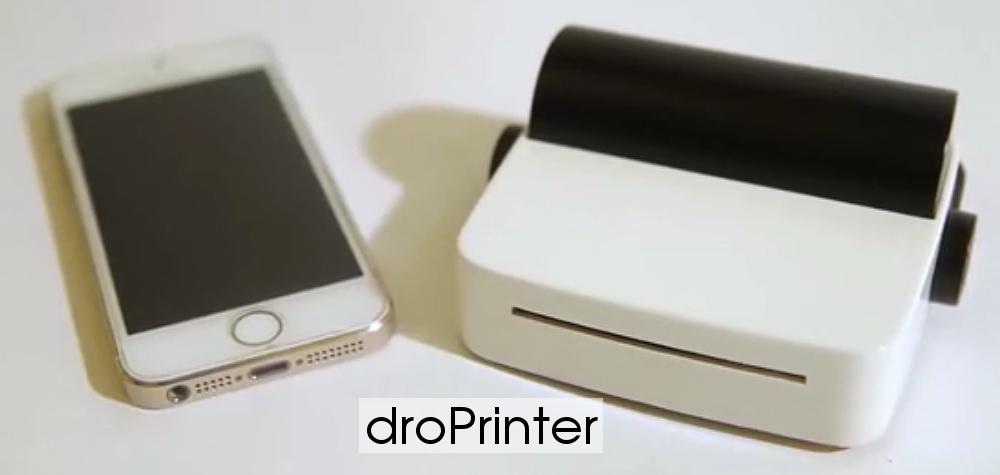 droPrinter и iPhone 5