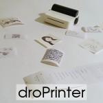 droPrinter для печати на термобумаге