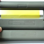 Картридж для Canon Selphy - прокручен на желтый сегмент