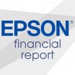 Финансовый отчет Epson - данные о продажах и выручке