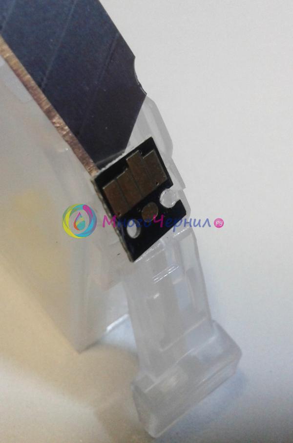 Удаление чипы с картриджа Canon Pixma