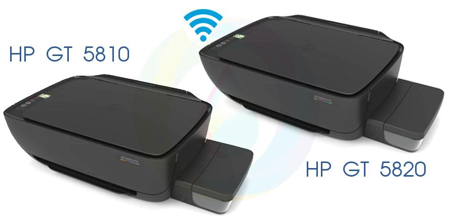 МФУ с СНПЧ HP GT 5810 и 5820