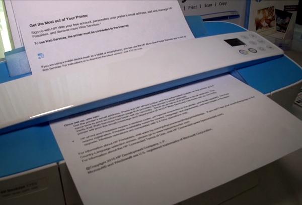 Сканирование на HP DeckJet 3755