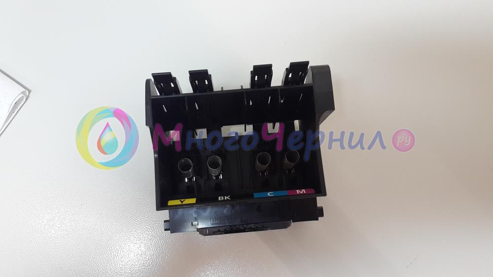 Печатающая головка Canon Maxify со стороны разъемов для картриджей PGI