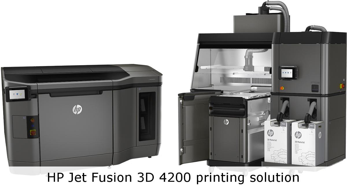3D-принтер HP Jet Fusion 3D 4200